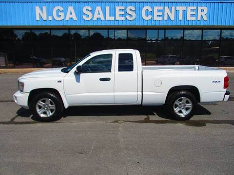 2010 Dodge Dakota for sale at NORTH GEORGIA Sales Center in La Fayette GA