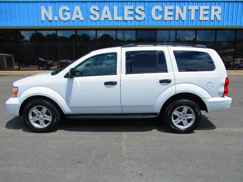 2009 Dodge Durango for sale at NORTH GEORGIA Sales Center in La Fayette GA