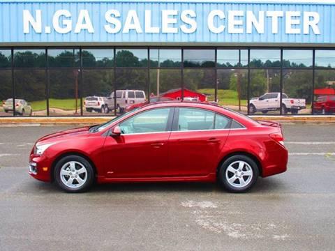 2016 Chevrolet Cruze Limited for sale at NORTH GEORGIA Sales Center in La Fayette GA