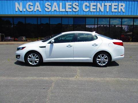 2013 Kia Optima for sale at NORTH GEORGIA Sales Center in La Fayette GA