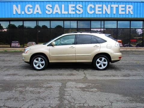 2004 Lexus RX 330 for sale at NORTH GEORGIA Sales Center in La Fayette GA