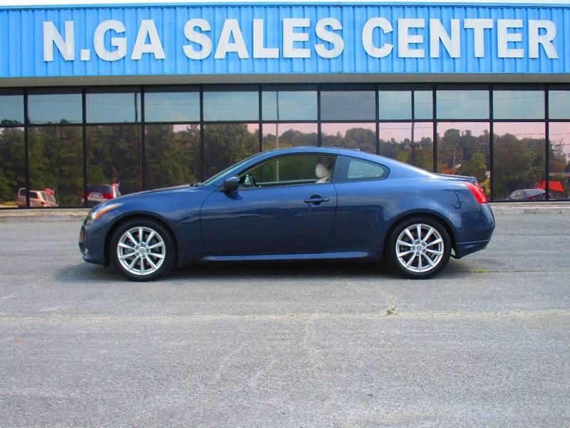 2011 Infiniti G37 Coupe for sale at NORTH GEORGIA Sales Center in La Fayette GA