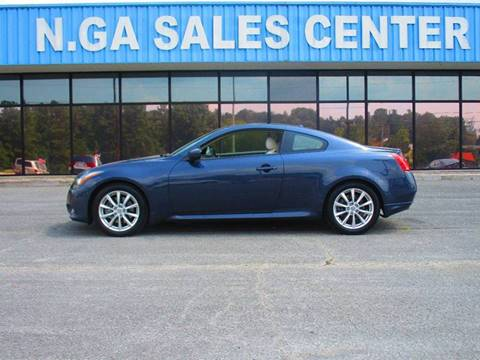2011 Infiniti G37 Coupe for sale at NORTH GEORGIA Sales Center in La Fayette GA