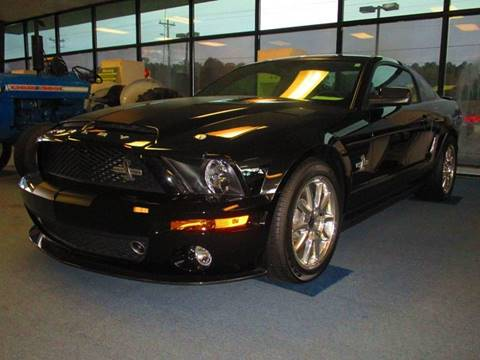 2009 Ford Shelby GT500 for sale at NORTH GEORGIA Sales Center in La Fayette GA