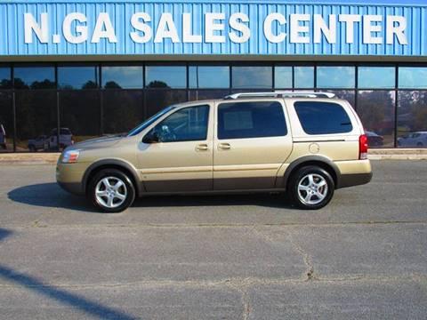 2006 Pontiac Montana SV6 for sale in La Fayette, GA