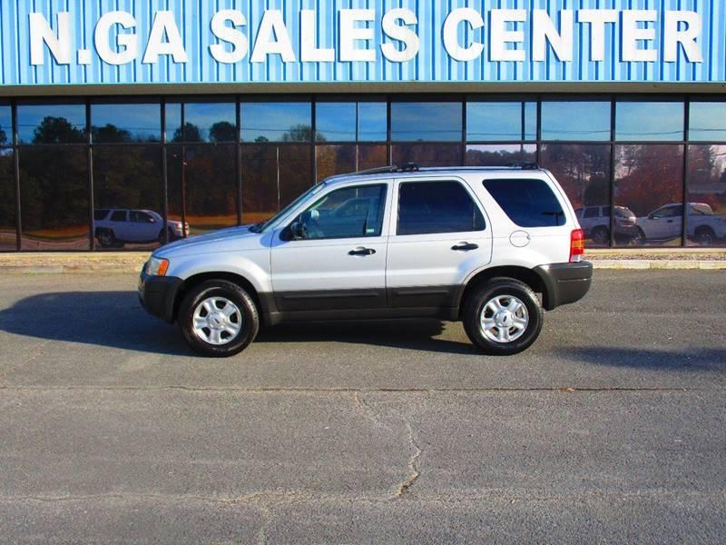 2004 Ford Escape for sale at NORTH GEORGIA Sales Center in La Fayette GA