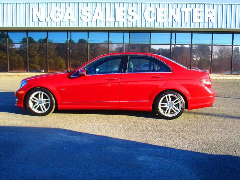 2012 Mercedes-Benz C-Class for sale at NORTH GEORGIA Sales Center in La Fayette GA
