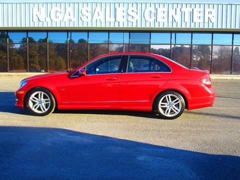 2012 Mercedes-Benz C-Class for sale at NORTH GEORGIA Sales Center in La Fayette GA