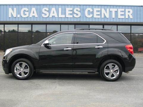 2015 Chevrolet Equinox for sale at NORTH GEORGIA Sales Center in La Fayette GA