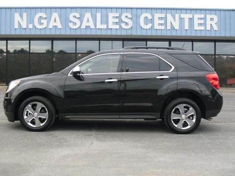 2015 Chevrolet Equinox for sale at NORTH GEORGIA Sales Center in La Fayette GA