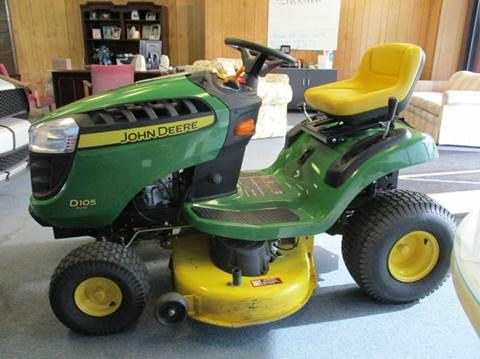 2014 John Deere D105 for sale at NORTH GEORGIA Sales Center in La Fayette GA