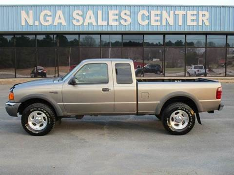 2003 Ford Ranger for sale at NORTH GEORGIA Sales Center in La Fayette GA