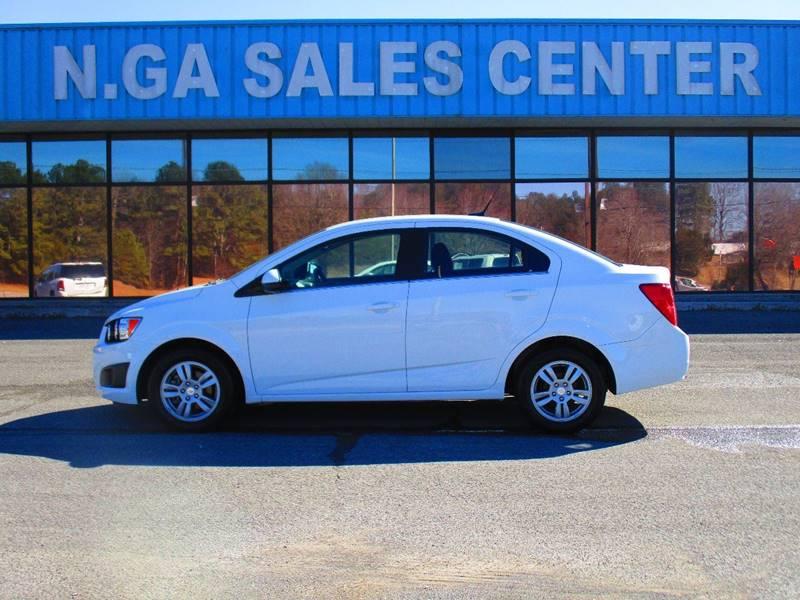 2014 Chevrolet Sonic for sale at NORTH GEORGIA Sales Center in La Fayette GA