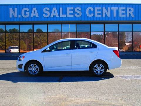 2014 Chevrolet Sonic for sale at NORTH GEORGIA Sales Center in La Fayette GA