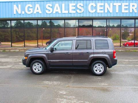 2014 Jeep Patriot for sale at NORTH GEORGIA Sales Center in La Fayette GA