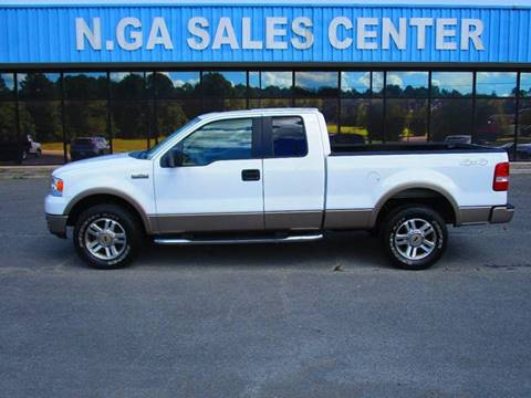 2005 Ford F-150 for sale at NORTH GEORGIA Sales Center in La Fayette GA