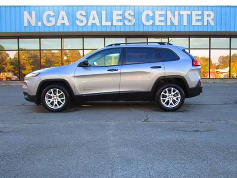 2015 Jeep Cherokee for sale at NORTH GEORGIA Sales Center in La Fayette GA