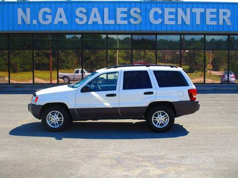 2004 Jeep Grand Cherokee for sale at NORTH GEORGIA Sales Center in La Fayette GA