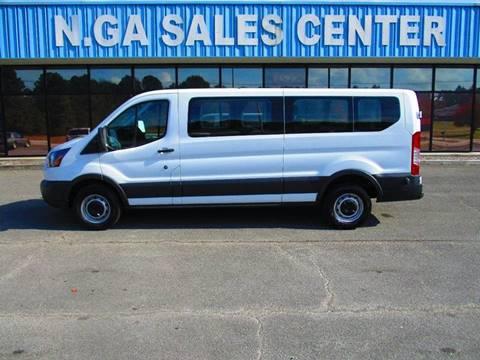 2016 Ford Transit Passenger for sale at NORTH GEORGIA Sales Center in La Fayette GA