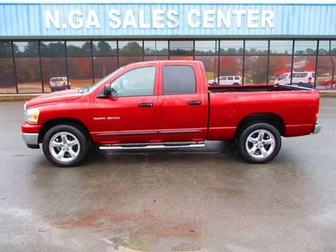 2006 Dodge Ram Pickup 1500 for sale at NORTH GEORGIA Sales Center in La Fayette GA