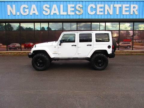 2011 Jeep Wrangler Unlimited for sale at NORTH GEORGIA Sales Center in La Fayette GA