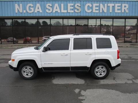 2011 Jeep Patriot for sale at NORTH GEORGIA Sales Center in La Fayette GA