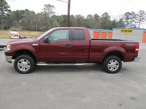 2004 Ford F-150 for sale at NORTH GEORGIA Sales Center in La Fayette GA