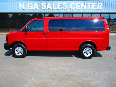 2010 Chevrolet Express Passenger for sale at NORTH GEORGIA Sales Center in La Fayette GA