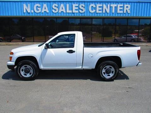 2011 Chevrolet Colorado for sale at NORTH GEORGIA Sales Center in La Fayette GA