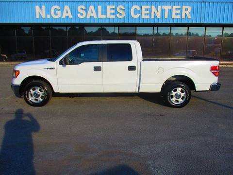 2011 Ford F-150 for sale at NORTH GEORGIA Sales Center in La Fayette GA