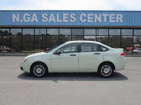 2011 Ford Focus for sale at NORTH GEORGIA Sales Center in La Fayette GA