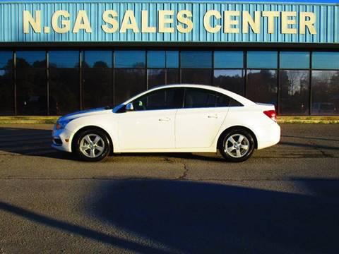 2015 Chevrolet Cruze for sale at NORTH GEORGIA Sales Center in La Fayette GA