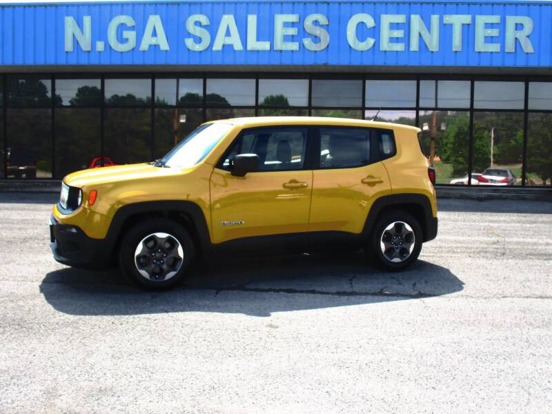 2016 Jeep Renegade for sale at NORTH GEORGIA Sales Center in La Fayette GA