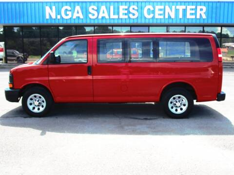 2013 Chevrolet Express Cargo for sale at NORTH GEORGIA Sales Center in La Fayette GA
