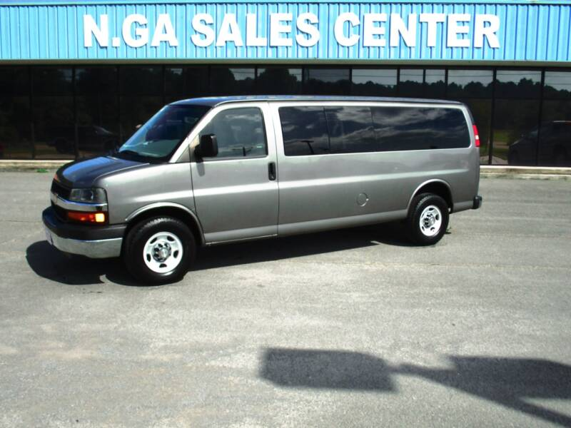 2012 Chevrolet Express Passenger for sale at NORTH GEORGIA Sales Center in La Fayette GA