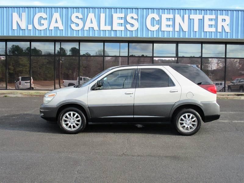 2004 Buick Rendezvous for sale at NORTH GEORGIA Sales Center in La Fayette GA