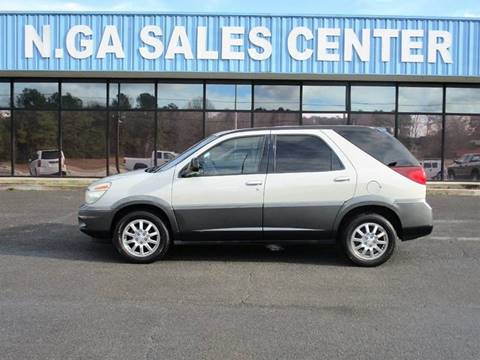 2004 Buick Rendezvous for sale at NORTH GEORGIA Sales Center in La Fayette GA