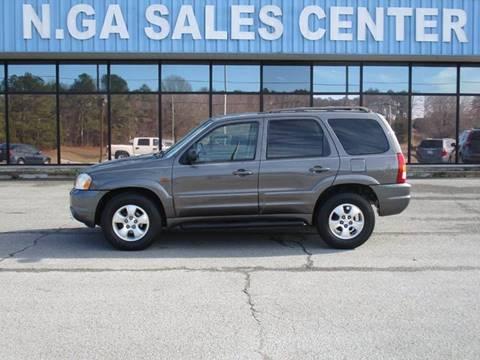 2003 Mazda Tribute for sale at NORTH GEORGIA Sales Center in La Fayette GA