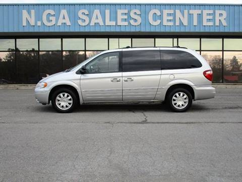 2006 Chrysler Town and Country for sale at NORTH GEORGIA Sales Center in La Fayette GA