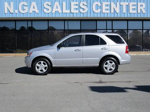 2007 Kia Sorento for sale at NORTH GEORGIA Sales Center in La Fayette GA