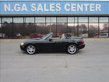 2004 Mazda MX-5 Miata for sale at NORTH GEORGIA Sales Center in La Fayette GA