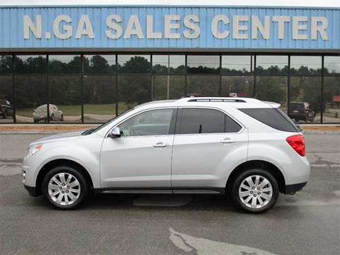 2011 Chevrolet Equinox for sale at NORTH GEORGIA Sales Center in La Fayette GA
