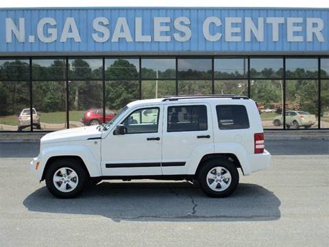 2009 Jeep Liberty for sale at NORTH GEORGIA Sales Center in La Fayette GA