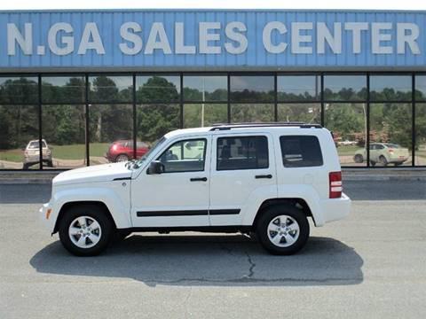 2009 Jeep Liberty for sale at NORTH GEORGIA Sales Center in La Fayette GA