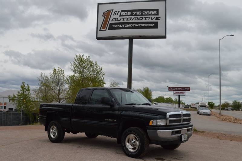 1998 Dodge Ram Pickup 1500 for sale at 1st Automotive in Rapid City SD