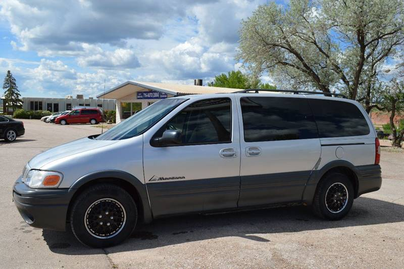 2002 Pontiac Montana for sale at 1st Automotive in Rapid City SD
