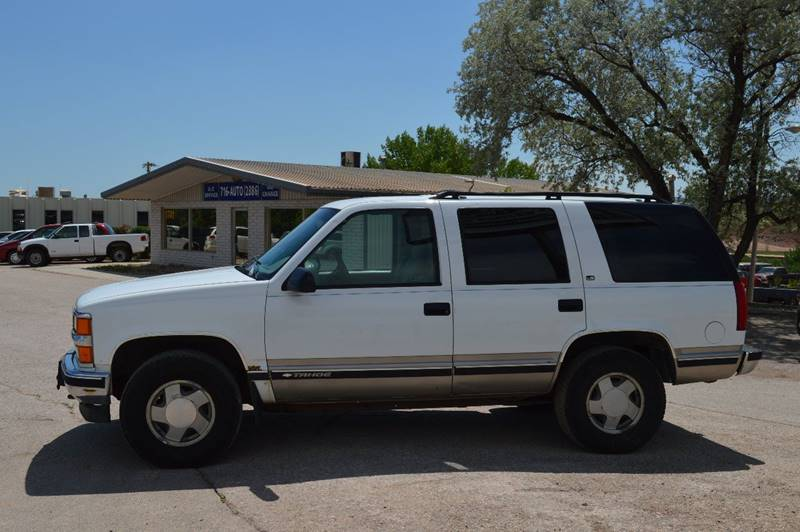 1998 Chevrolet Tahoe for sale at 1st Automotive in Rapid City SD