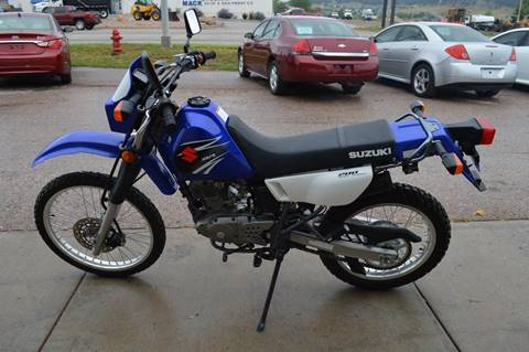 2007 Suzuki DR200SET for sale at 1st Automotive in Rapid City SD