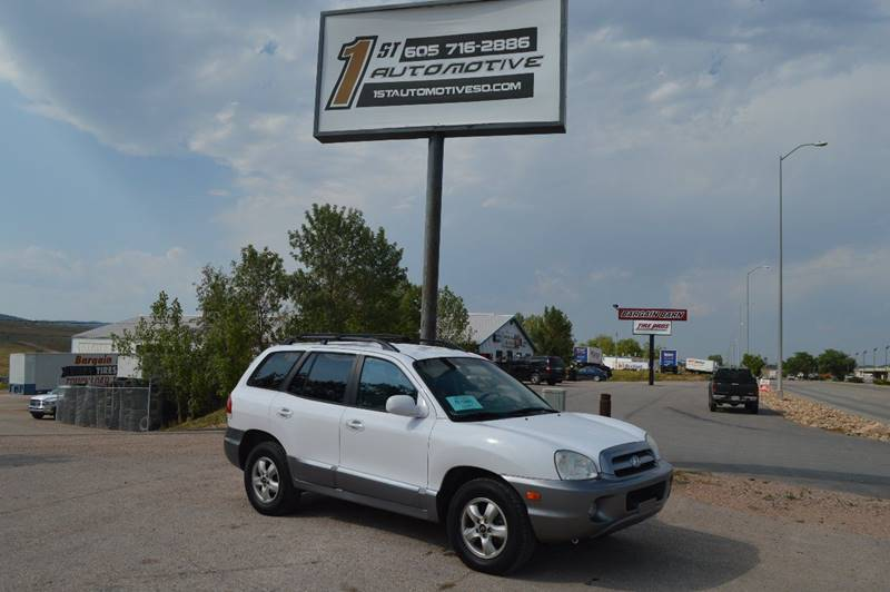 2006 Hyundai Santa Fe for sale at 1st Automotive in Rapid City SD