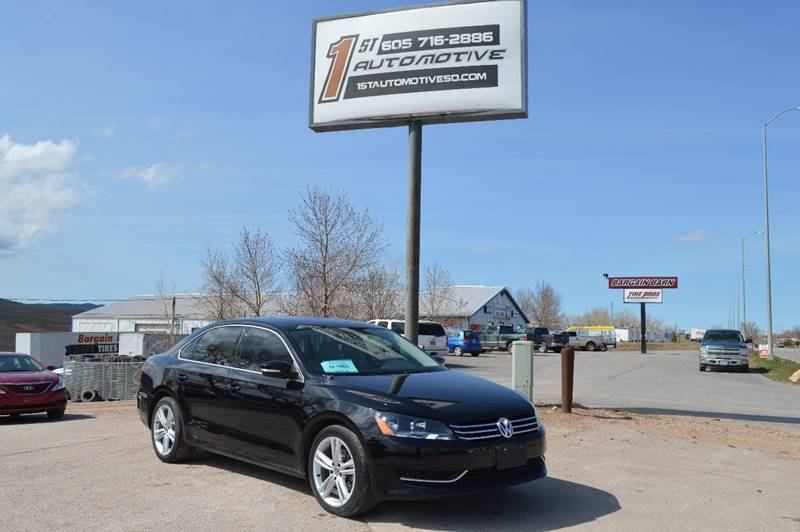 2014 Volkswagen Passat for sale at 1st Automotive in Rapid City SD